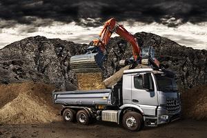 Baufahrzeuge im Einsatz